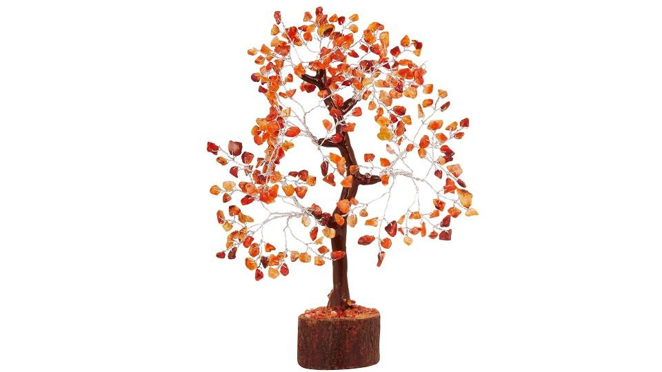 Pyor Carnelian Bonsai Money Tree - Amazon, $31.