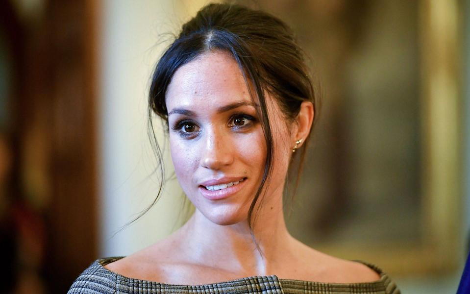 Meghan was watching the funeral on television at home in Montecito, California - Ben Birchall/AFP