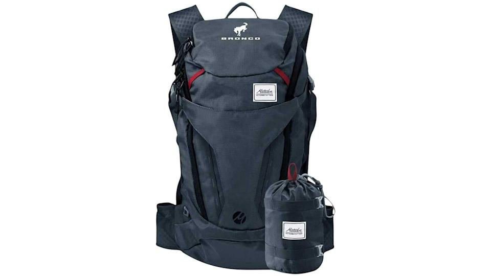 "<p>We start with an item that could be legitimately useful to Bronco buyers who use the vehicle as intended. This 28-liter backpack looks great, it has the capability for water bladders and hoses, and naturally it has Bronco branding.</p>   <ul><li><a href=""https://www.motor1.com/news/431995/watch-2021-ford-bronco-debut-july-13/?utm_campaign=yahoo-feed"" rel=""nofollow noopener"" target=""_blank"" data-ylk=""slk:How To Watch The 2021 Ford Bronco Debut On July 13"" class=""link rapid-noclick-resp"">How To Watch The 2021 Ford Bronco Debut On July 13</a></li><br><li><a href=""https://www.motor1.com/news/432769/2021-ford-bronco-spy-shots-interior/?utm_campaign=yahoo-feed"" rel=""nofollow noopener"" target=""_blank"" data-ylk=""slk:2021 Ford Bronco Spy Shots Reveal Off-Roader's Interior"" class=""link rapid-noclick-resp"">2021 Ford Bronco Spy Shots Reveal Off-Roader's Interior</a></li><br></ul>"