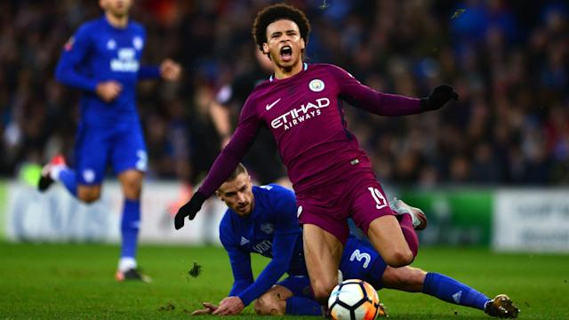 The winger could face a month on the sidelines following Manchester City's win on Sunday, but the Cardiff City defender insists he meant no harm
