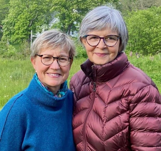 Suzanne Smith and Virginia Puddicombe own a home in Sandy Cove, N.S. They usually travel from their Ontario home to stay in Nova Scotia during the summer. (Stephanie Smith - image credit)