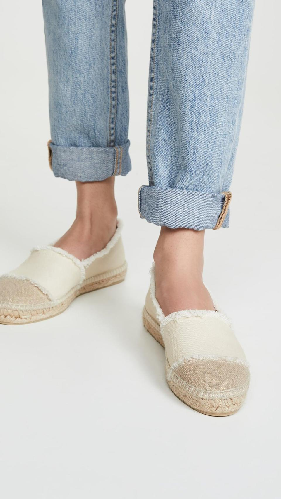 <p>Welcome warm weather with these <span>Castaner Kampala Espadrille Flats</span> ($120).</p>
