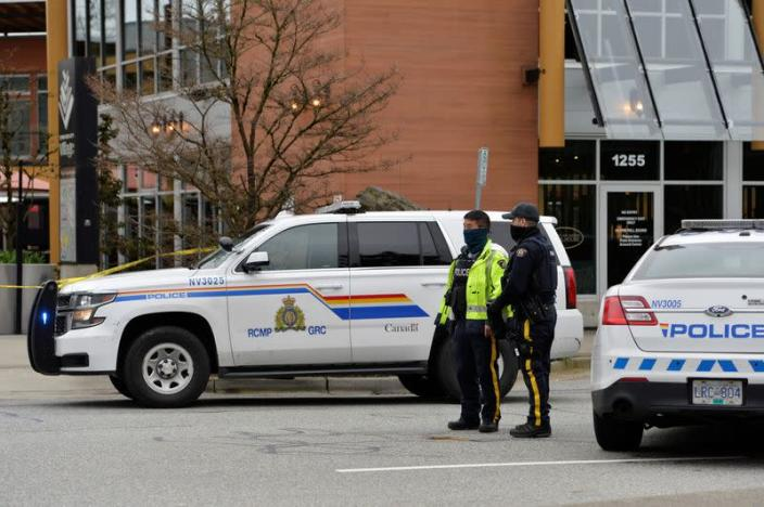 Multiple people stabbed at a library in North Vancouver