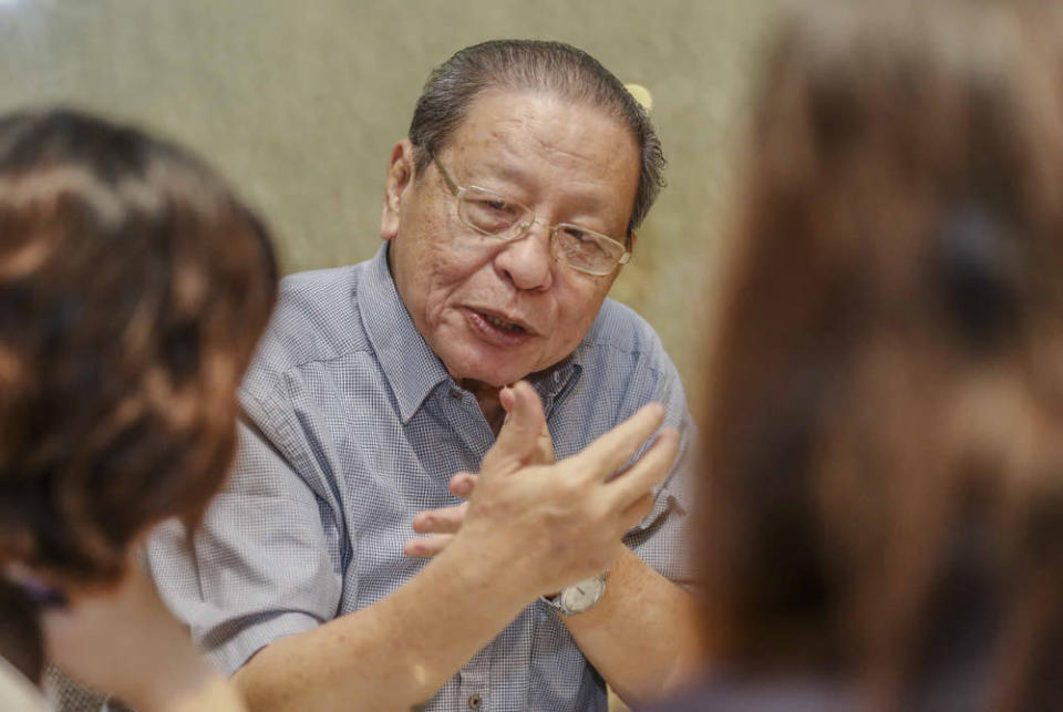 Lim said the pandemic could have been brought under control earlier with an 'all-of-government' and 'whole-of-society' strategy and approach. — Picture by Firdaus Latif