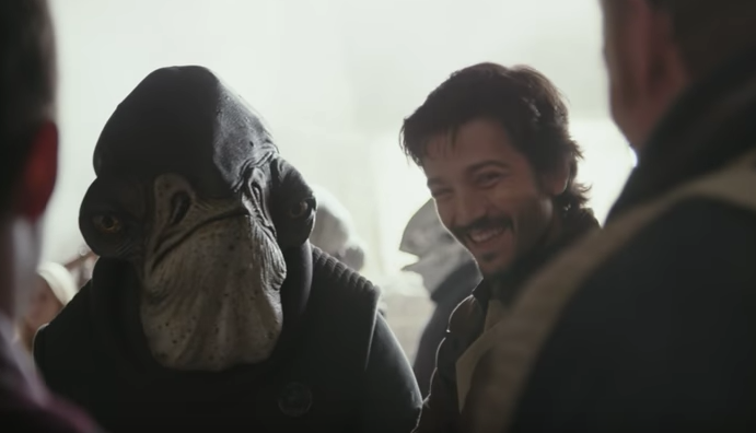Admiral as seen in 'Rogue One' featurette