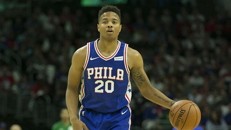 Fultz honoured to become youngest to record NBA triple-double