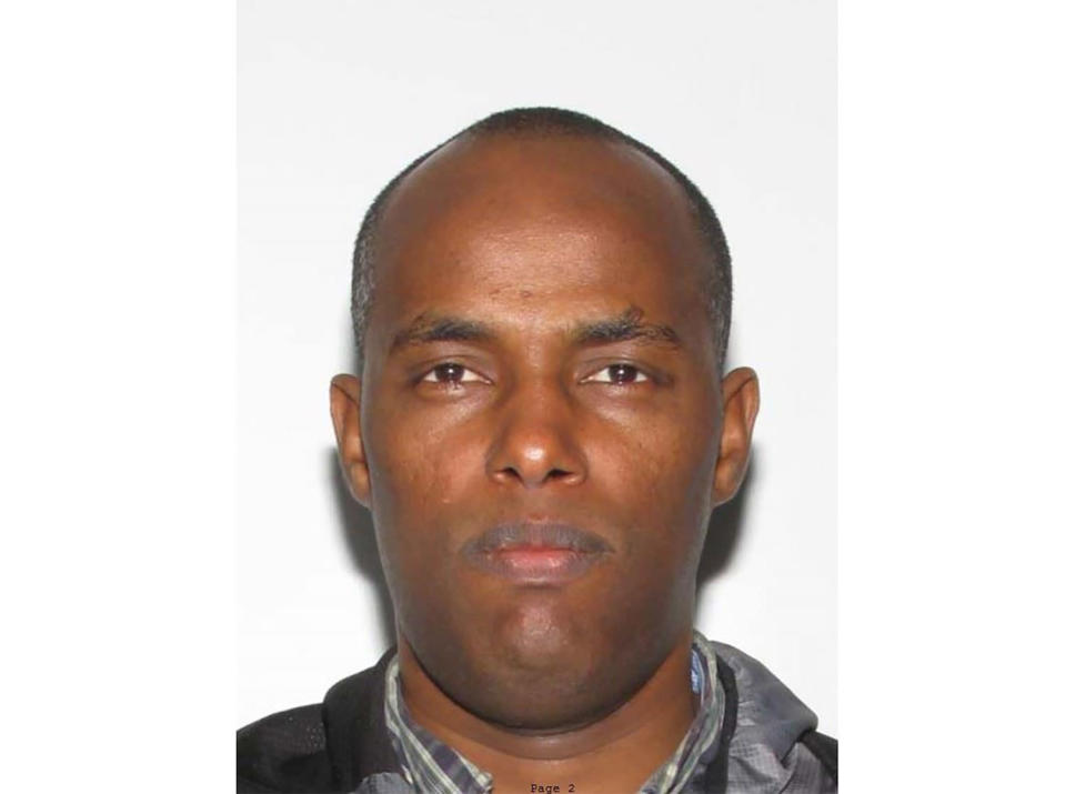 This photo provided by the city of Frederick, Md. shows Fantahun Girma Woldesenbet. Woldesenbet, a Navy medic who shot and wounded two U.S. sailors before security forces shot and killed him at a nearby Army base had been assigned to a medical research center in Maryland for nearly two years. Authorities say Woldesenbet and the two men he shot on Tuesday, April 6, 2021 were all assigned to Fort Detrick Army base in Frederick. (City of Frederick, Md via AP)