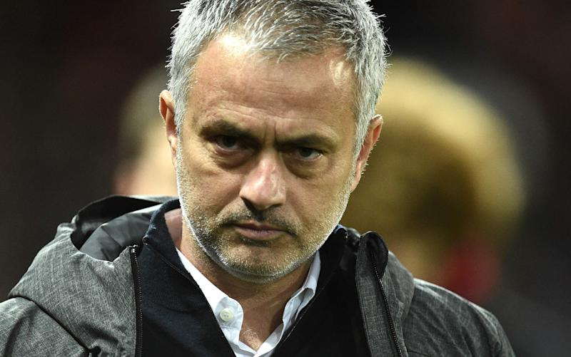 Jose Mourinho reeled off a series of complaints this week - AFP or licensors