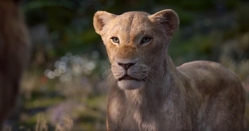 Beyoncé Knowles voices Nala in 'The Lion King.' (Photo: Disney)