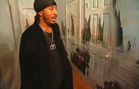 <p>Ludacris painted his entire hallway to look like a swamp, and honestly I've never felt more at home. </p>