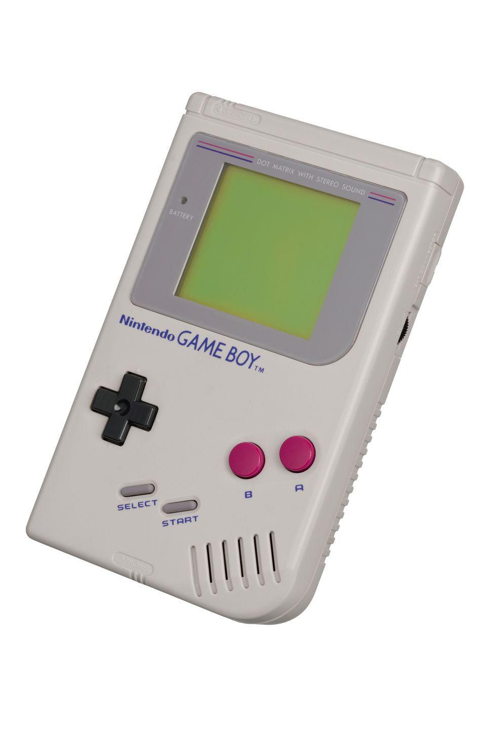 """<p>Before we were obsessed with our cell phones, we whiled away the hours on Nintendo's handheld game system, which was first release in the U.S. in 1989. These days, mint condition Game Boys go for hundreds and, if you have a special edition like the <a href=""""https://www.ebay.com/itm/Nintendo-Game-Boy-Light-Clear-Yellow-Hardware-Dragon-Quest-GB-Memory-B28B/292855881834?hash=item442f92206a:rk:2:pf:0"""" rel=""""nofollow noopener"""" target=""""_blank"""" data-ylk=""""slk:Game Boy Light"""" class=""""link rapid-noclick-resp"""">Game Boy Light</a>, over $1,000. </p>"""