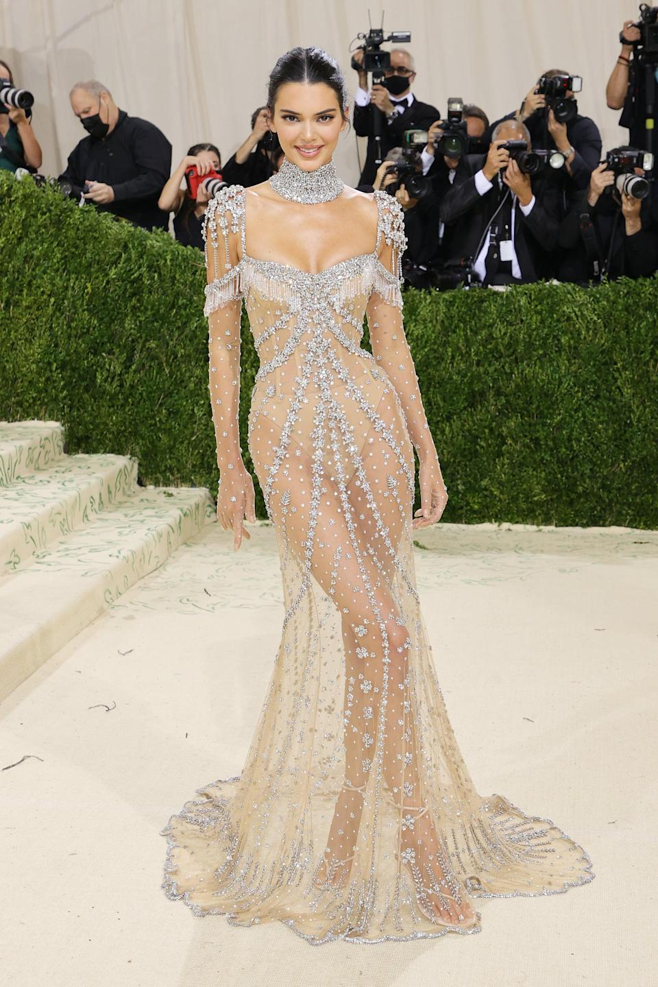 <p>Wearing Custom Givenchy Haute Couture.</p>