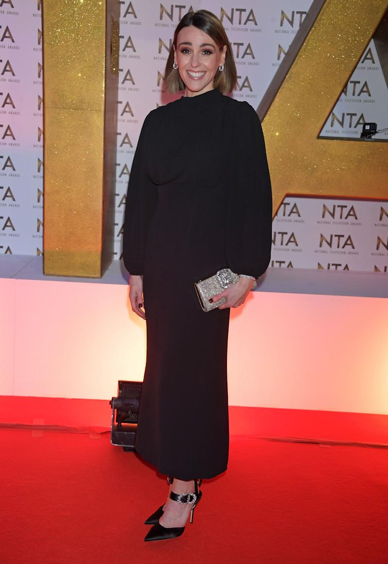 LONDON, ENGLAND - JANUARY 28: Suranne Jones attends the National Television Awards 2020 at The O2 Arena on January 28, 2020 in London, England. (Photo by David M. Benett/Dave Benett/Getty Images)