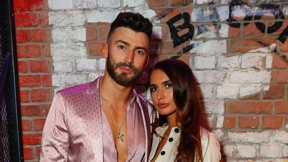 Jake Quickenden and Sophie Church have urged social media companies to do more to identify trolls. (David M. Benett/Getty Images)