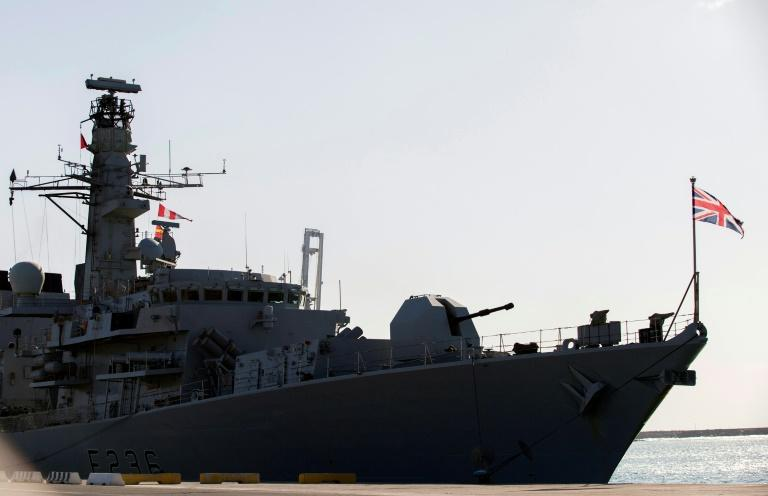 The HMS Montrose, a Royal Navy frigate, was forced to train its guns on armed Iranian boats threatening a British oil tanker in the Gulf