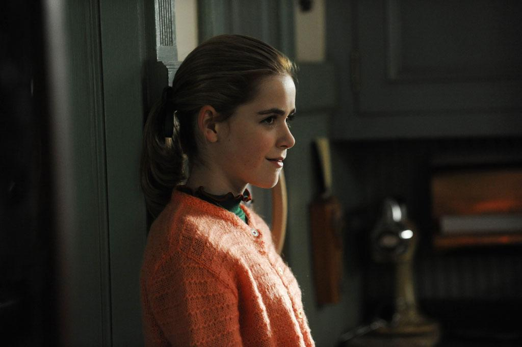"Sally Draper (Kiernan Shipka) in Part 2 of the ""Mad Men"" Season Premiere, ""The Doorway."""