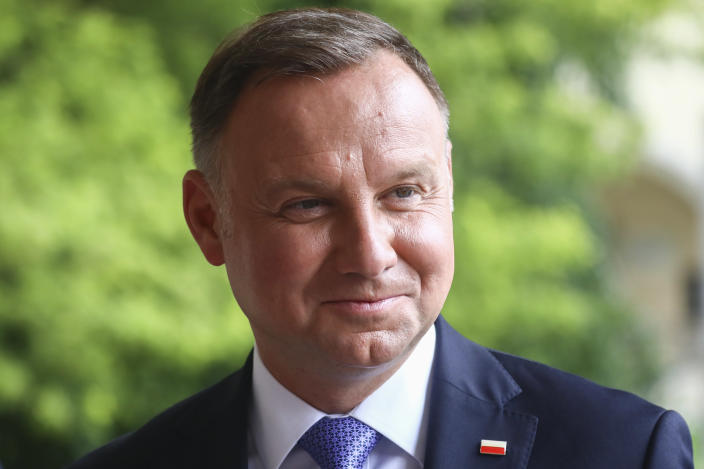 President Duda (pictured on Aug. 3) was re-elected to a second five-year term last month. (Photo: Beata Zawrzel/NurPhoto via Getty Images)