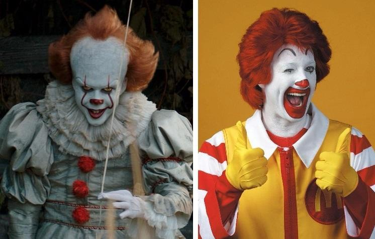 Spot the difference…? (Credit: Warner Bros, McDonald's)