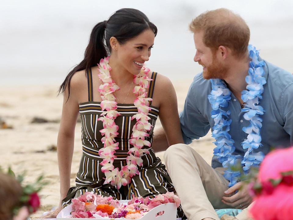Harry and Meghan visited Bondi Beach during their 16-day tour (Getty)