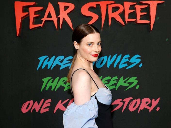 """Gillian Jacobs at the premiere of """"Fear Street Part 3: 1666"""" in 2021."""