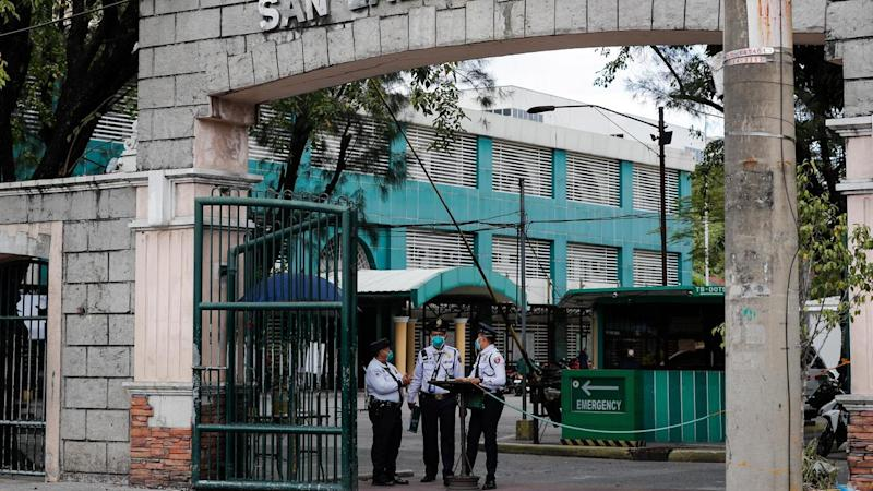 A 44-year-old Chinese man has died from coronavirus at the San Lazaro Hospital in the Philippines
