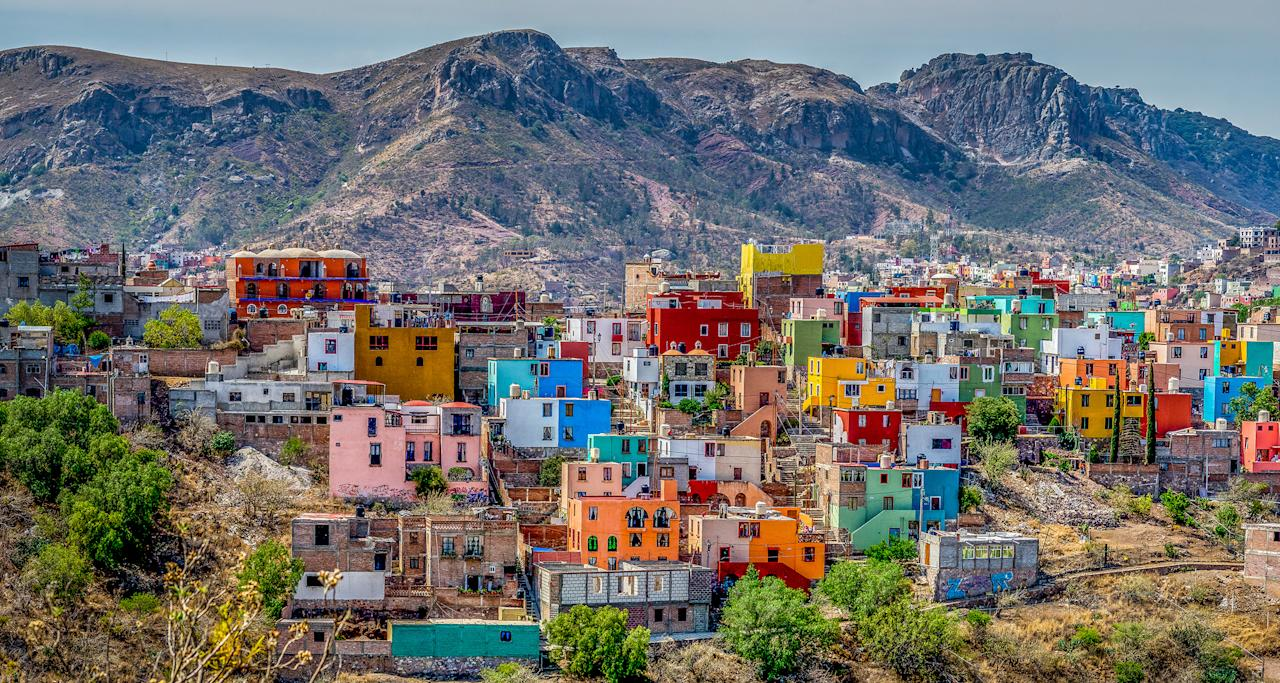 Founded as a silver-mining town by the Spanish in the 1500s, Guanajuato's colourful mountain sprawl is now a Unesco World Heritage site. The setting also inspired the latest Pixar movie 'Coco.'