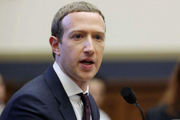 PHOTO: Facebook co-founder and CEO Mark Zuckerberg testifies before the House Financial Services Committee on Capitol Hill in Washington, Oct. 23, 2019. DC. (Chip Somodevilla/Getty Images, FILE)