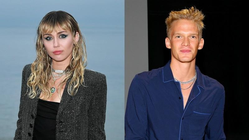 Miley Cyrus Poses With Shirtless Cody Simpson After Returning Home From the Hospital