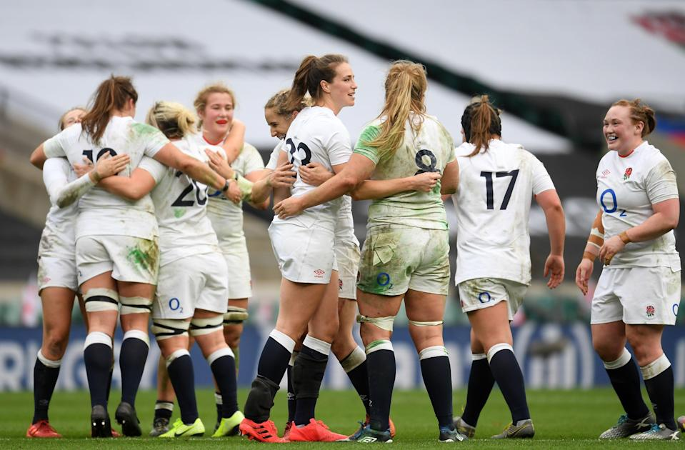 England are primed for the spotlight in the Six Nations final against France (Getty =)