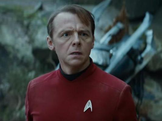 Simon Pegg as Scotty in 'Star Trek Beyond' (2016): Paramount Pictures