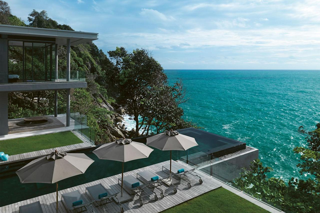 """<p><strong>Location: </strong>Phuket, Thailand</p><p><strong>Sleeps: </strong>12</p><p><strong>Description: </strong>'<a rel=""""nofollow"""" href=""""http://www.villaamanzi.com/"""">Exceptionally luxurious</a>, fantastic swimming pool; surrounded by jungle.'</p>"""