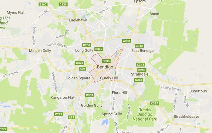 The property is near Bendigo in Victoria. Picture: Google Maps