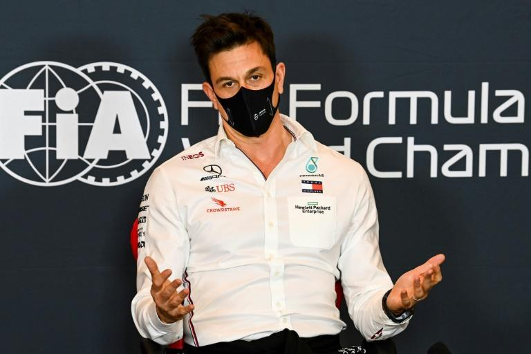 Coronavirus concerns: Mercedes team boss Toto Wolff said he was worried for the rest of this season and for next season