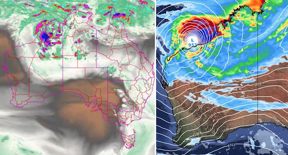 Parts of Western Australia have been told to brace for a possible cyclone