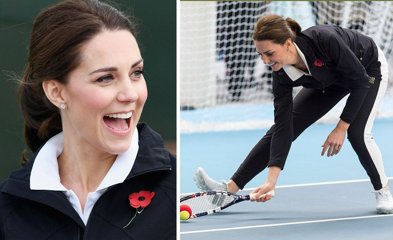 Pregnant Kate Middleton back to royal duties in $1K trackies