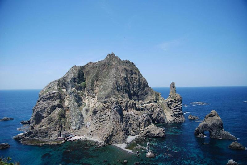 Rocky horror show: the disputed outcrop known as Takeshima by Japan, and Dokdo by South Korea (Wikimedia Commons)