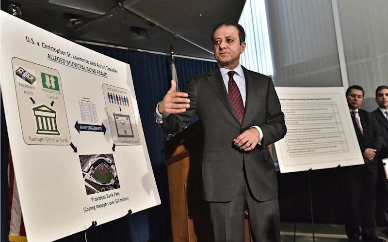 Preet Bharara was asked to resign on Friday