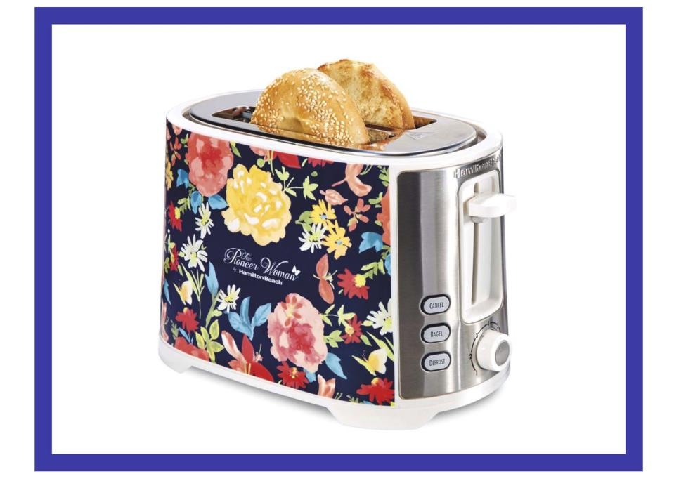 This beauty is $16 off and has extra wide slots (bagels, we got you). (Photo: Walmart)