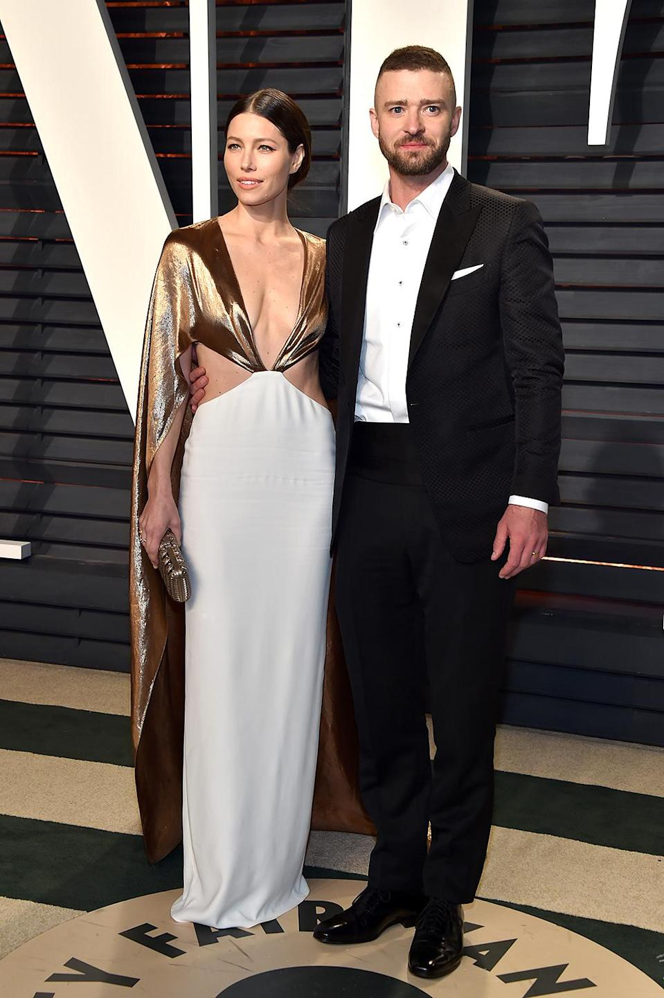 """<p>From the way Jessica Biel was dancing at the Oscars when hubby Justin Timberlake kicked off the show with a performance of """"Can't Stop the Feeling,"""" we're guessing she continued to bust a move at the afterparties. (Photo by Pascal Le Segretain/Getty Images) </p>"""