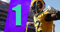 <p>Aaron Donald had four sacks and six tackles for loss on Sunday. Imagine how good the Rams are going to be if Donald is hitting a hot streak. (Brandin Cooks) </p>