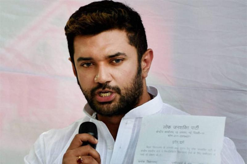 Chirag Paswan Flags 'Disappearance' of Covid-19 Patient in His Constituency, Writes to Bihar CM