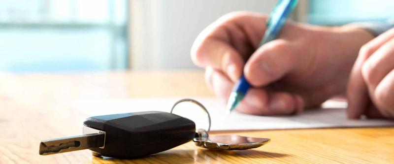 To transfer a car title, make sure all the paperwork is in order