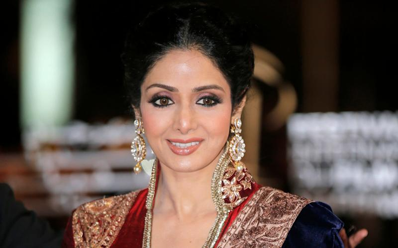 The 54-year-old Bollywood actress died while in Dubai for her nephew's wedding - AP