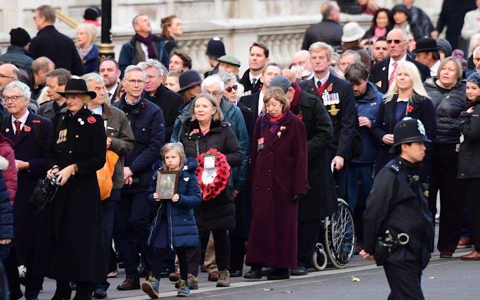 Remembrance Sunday at the Cenotaph - Paul Grover