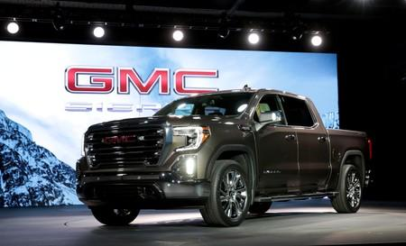 FILE PHOTO: General Motors debuts the new 2019 GMC Sierra pickup truck at the Russell Industrial Center in Detroit