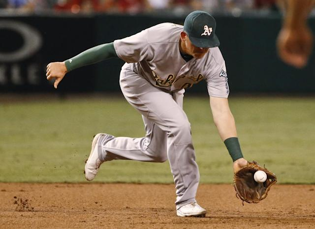 <p>The Blue Jays will have no easier opportunity for a four-game sweep than hosting the lowly Athletics in late July. (AP) </p>