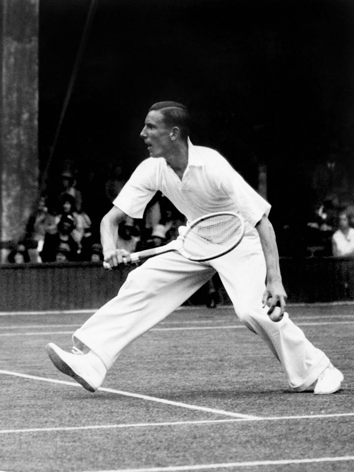 <p>Britain's most successful tennis player in terms of titles. Won all four Grand Slams as he claimed eight titles between 1933-36, including three at Wimbledon and three US Opens. </p>