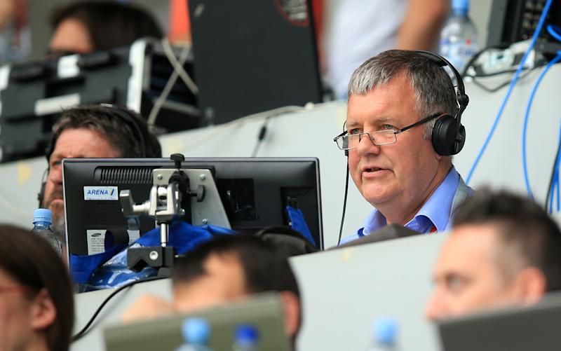 ITV commentator Clive Tyldesley