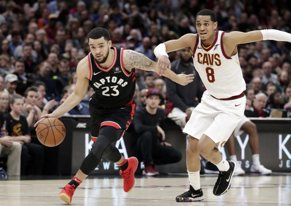 Fred VanVleet is averaging 8.9 points and 3.2 assists in 20.2 minutes per game while shooting 42 percent from 3-point range. (AP)