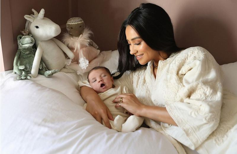 Shay Mitchell and daughter
